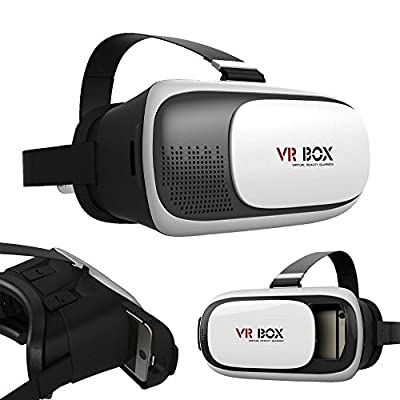 3D VR CASE VR BOX New GENERATION VIRTUAL REALITY GLASSES for Samsung IOS iPhone