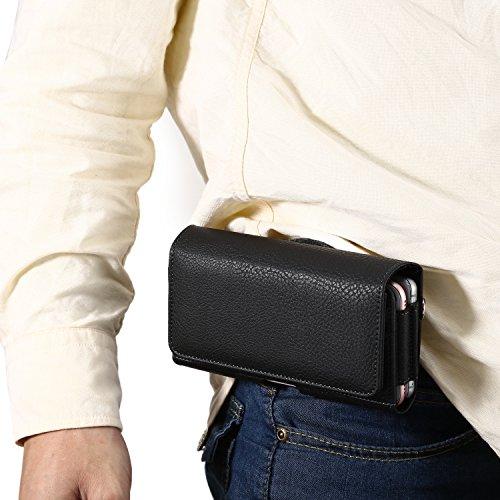 [해외]Q-Beau 헤매고 벨트 케이스 2 개 들어가고, 신용 카드, 버스 카드, 동전 수납 iPhone6s iPhone7 4.7 인치 휴대폰에도 적용 / Q-beau Smartphone Belt case 2 units, credit card, bus card, coin storage iPhone6s iPhone7 4.7-inch mobile phone al...