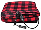 electric auto blanket - Sports Imports 12V Fleece Heated Electric Travel Blanket