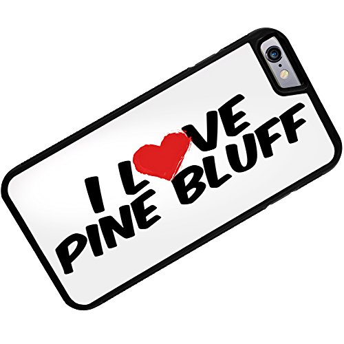 Case for iPhone 6 Plus I Love Pine Bluff - Neonblond (I Pine 6 Plus)