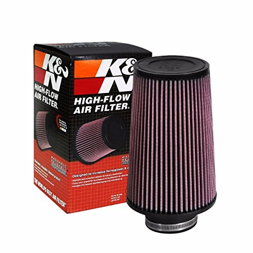 """K&N 3.00"""" 76 mm Universal Rubber Cotton Gauze Cone Round Tapered Air Filter RE-0810"""
