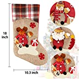 Dreampark Christmas Stockings, Big Size 3 Pcs