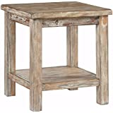 Ashley Furniture Signature Design - Vintage Chair Side End Table - Rustic Brown