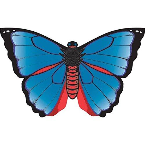 """WindNSun Karner Blue Butterfly Nylon Kite, 32"""", Multi, I610 (70501)"""
