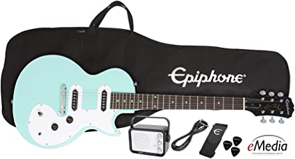 Amp Vintage Sunb Epiphone Les Paul Special II LTD VS Player Pack E-Gitarre