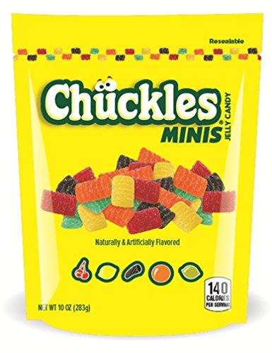 Chuckles Mini Jelly Candy, 10 Ounce Bag