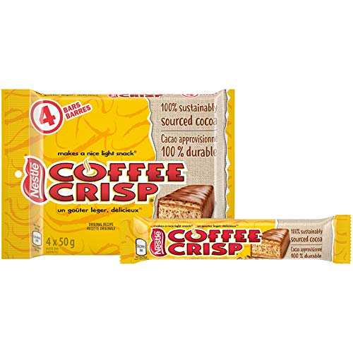 Crisp Chocolate Bar 4 x 50gram Bars. Imported from Canada. ()