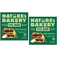 Nature's Bakery Apple Cinnamon Real Fruit, Whole Grain Fig Bar - 12 ct. (24 oz.)