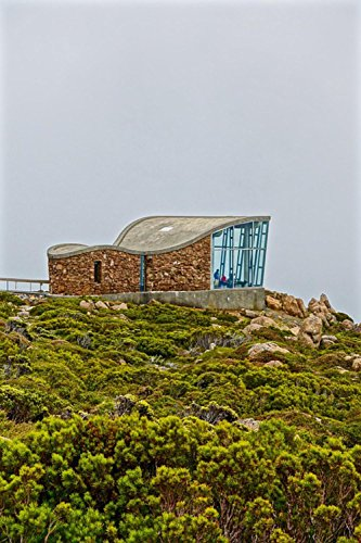 Quality Prints - Laminated 24x36 Vibrant Durable Photo Poster - Lookout Observation Deck Tourism Mt Wellington Hobart Tasmania Landmark Viewing Platform Mountain Outdoors Sightseeing ()