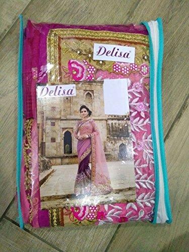 Delisa Fashion Ethnic Designer Bollywood Party Wear Pakistani Indian Saree tirupati by Delisa (Image #3)