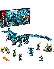 LEGO 71754 NINJAGO Vattendrake, byggset och barnleksak med ninjatema för barn 9+ år