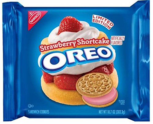 Oreo Cookie Cakes - Strawberry Shortcake Oreo Cookies (10.7 Ounces-- 1 Pack)