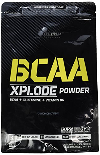Olimp BCAA Xplode Powder Orange, 1er Pack (1 x 1 kg)
