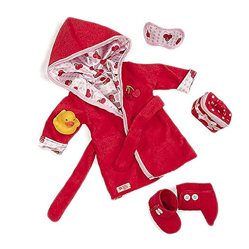 "Our Generation Robe a Dub Dub Deluxe Outfit - Compatible with 18"" Dolls"