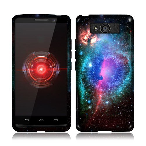 Nextkin Motorola Droid Mini XT1030 Silicone TPU Skin Gel Soft Protector Cover Case - Clash of Cosmo Galaxy