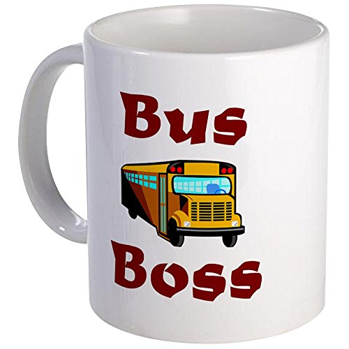 CafePress - School Bus Driver Mug - Unique Coffee Mug, Coffee Cup
