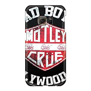 Great Hard Phone Cover For Samsung Galaxy S6 (ILo1966qxTV) Customized Nice Motley Crue Band Pictures