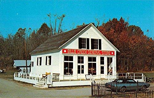 Annapolis Indiana Billie Creek Village Store Vintage Postcard - Stores Annapolis