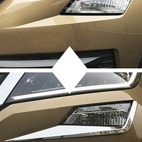 Gate Moulage Coque Trim 2 pcs pour accessoire de voiture SKKD Porte arri/ère en acier inoxydable Couvercle de coffre arri/ère de queue