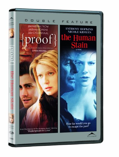 Proof / The Human Stain (Full Screen Edition) (Double Feature)