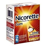 Nicorette Nicotine Gum, 2 mg, Cinnamon Surge 160 ea