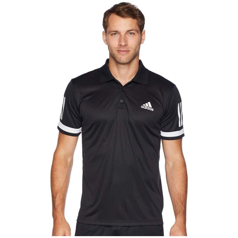 (アディダス) adidas メンズ テニス トップス Tennis Club 3-Stripe Polo [並行輸入品] B07GVHK8JY Large