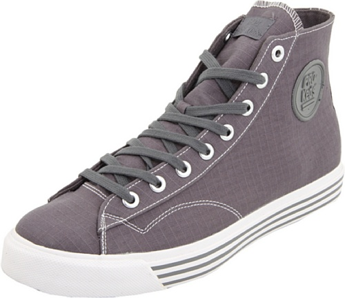e0446113f11d4 Pro-Keds Men's 69er Hi Canvas Sneaker, Charcoal, 13 M US - Buy ...
