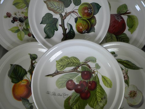 Portmeirion Pomona No Border Dinner Plates-Set(s) Of 6