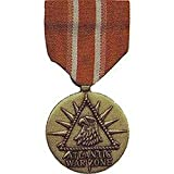United States Military Armed Forces Full Size Medal - US Merchant Marine - Atlantic War Zone