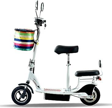 ABYYLH Bicicleta Electrica Montaña Plegable Paseo Fat E-Bike ...