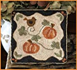 Country Pumpkins Punchneedle Chart