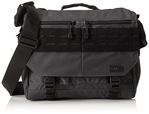5.11 RUSH Delivery MIKE Tactical Messenger Bag, Small, Style 56176, Double Tap (One size) Color And Carry Messenger Bag