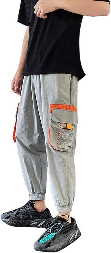 Doreleven Pantalones de Hombre Casuales Chino Deporte Joggers ...
