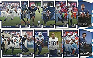 2016 & 2017 Panini Donruss Football Tennessee Titans 2 Team Set Lot Gift Pack 26 Cards W/Rookies