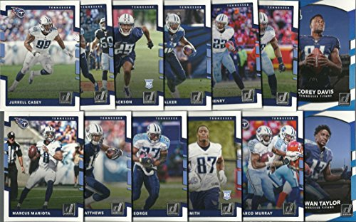 2017 Panini Donruss & Score Football Tennessee Titans 2 Team Set Lot Gift Pack 27 Cards W/Rookies Tennessee Titans Set