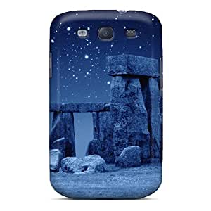 Awesome Design Stone Henge Blue Hard Case Cover For Galaxy S3