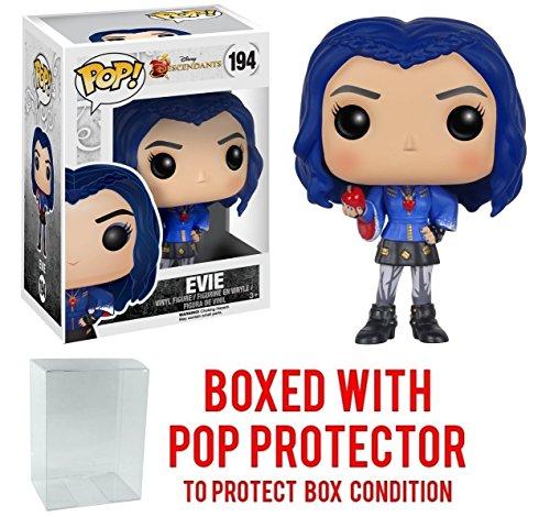 Funko Pop! Disney: Descendants - Evie Vinyl Figure (Bundled with Pop BOX PROTECTOR CASE)