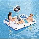 LQH-Piscina-Gonfiabile-Galleggiante-Zattere-Aria-Divano-Floating-Poltrona-Letto-Galleggiante-Drifter-Piscina-Spiaggia-con-Pompa-di-Aria-elettrica-puo-ospitare-2-Persone-87-69In