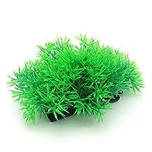 Good Cool Plastic Aquarium Fish Tank Simulation Grass Plant Decoration Decor Ornament