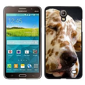 EJOY---Cubierta de la caja de protección para la piel dura ** Samsung Galaxy Mega 2 ** --Gran Danés Spots perro canino Mascota