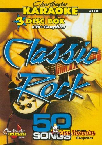 Chartbuster Karaoke CDG CB5110 - Classic Rock