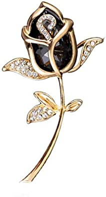 Elegant Bridal Rhinestone Crystal Flower Wedding Bouquet Brooch Pin Jewelry Gift