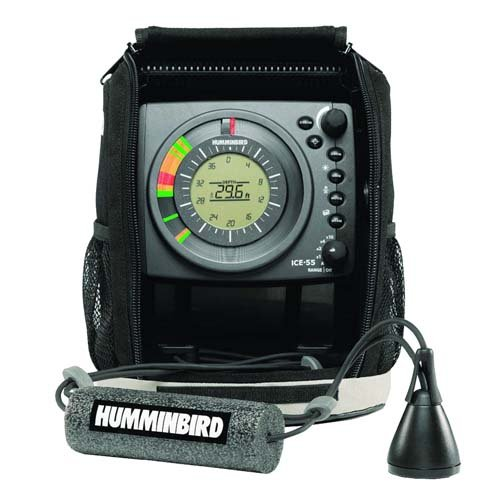 Dual Frequency Color Lcd Fishfinder - Humminbird ICE 55 Ice Fishing Flasher
