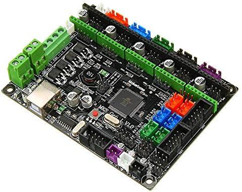 LWQJP V1.0統合コントローラメインボードの互換性Mega2560 R3 /Ramps1.4用の3Dプリンタ3Dプリンタアクセサリ