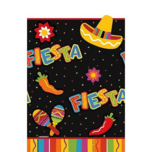 Fiesta Fun Cinco de Mayo Party Rectangular Table Cover Tableware, Paper, 54