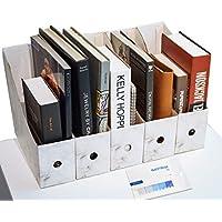 CAVEEN Revistero Archivador de la Oficina Cartón Caja de Almacenamiento con Cédula Organizador de Documentos Papelería…
