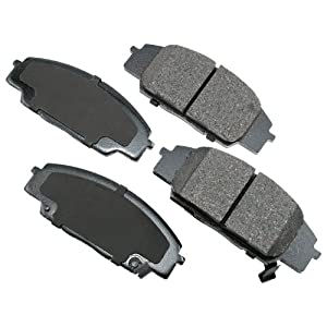 Akebono ACT829 ProACT Ultra-Premium Ceramic Brake Pad Set
