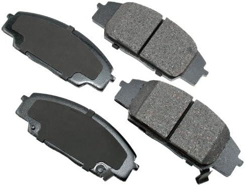 Akebono ACT829 ProACT Ultra-Premium Ceramic Brake Pad Set by Akebono