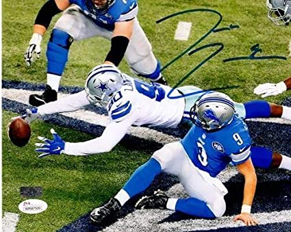 9b2138668 Demarcus Lawrence Autographed Signed Auto Dallas Cowboys 8x10 Photograph JSA  - Certified Authentic