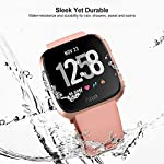 UMTELE-Fitbit-Versa-Bands-Silicone-Replacement-Sport-Strap-with-Metal-Buckle-for-Fitbit-Versa